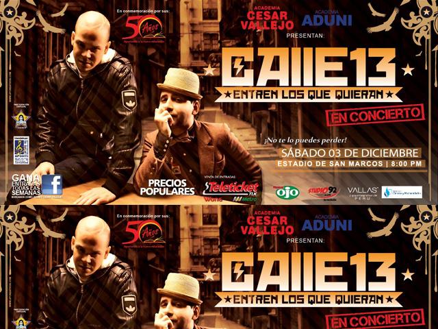 calle 13 en concierto    publicidad  u00ab upcreativos multimedia agency